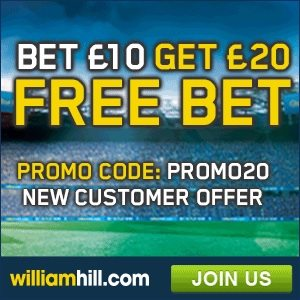 william hill live casino promo code