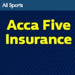 William Hill Sports Acca Five Insurance