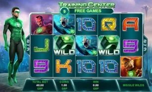 Green Lantern Slot Machine