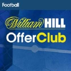 William Hill Sports Offer Club £5 Weekly Free Bets