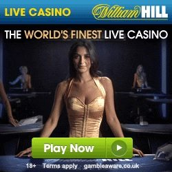 William Hill Live Casino £50 Bonus