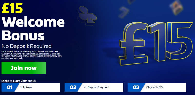 William Hill Casino No Deposit Bonus