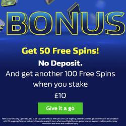 William Hill Casino No Deposit Bonus 150 Free Spins